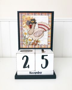 November: Thanksgiving - Block Countdown - Foundations Decor