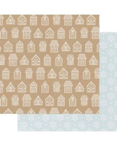 """Favorite Things 12"""" x 12"""" Paper - Home for Christmas - Renne Looney - Fancy Pants Designs"""