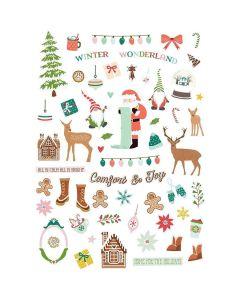 Home for Christmas Ephemera - Renne Looney - Fancy Pants Designs