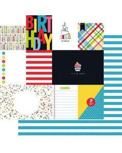 """Cut Apart 12"""" x 12"""" Paper - Cake Smash - Fancy Pants Designs"""