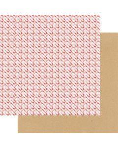 "Sweet Treats 12"" x 12"" Paper - A Cherry On Top - Fancy Pants Designs"