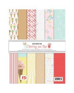 "A Cherry On Top 6"" x 8"" Paper Pad - Fancy Pants Designs"