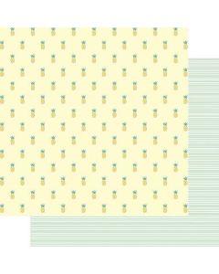 """Summer Sweetness 12"""" x 12"""" Paper - Vitamin Sea - Renne Looney - Fancy Pants Designs"""