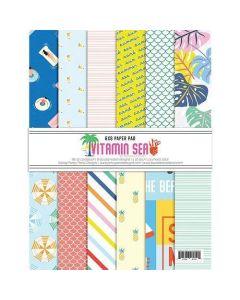 """Vitamin Sea 6"""" x 8"""" Paper Pad - Renne Looney - Fancy Pants Designs"""