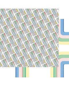 "Adventure 12"" x 12"" Paper - Just Plane Fun - Renne Looney - Fancy Pants Designs"