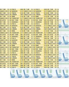 "Flight Status 12"" x 12"" Paper - Just Plane Fun - Renne Looney - Fancy Pants Designs"
