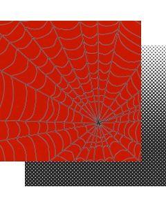 "The Web 12"" x 12"" Paper - Sidekick Optional - Amber Labau - Fancy Pants Designs"