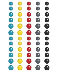 Sidekick Optional Puffy Dots Stickers - Amber Labau - Fancy Pants Designs