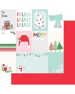 """Christmas Cut-Apart 12"""" x 12"""" Paper - Wishmas - Jodi Sanford - Fancy Pants Designs"""