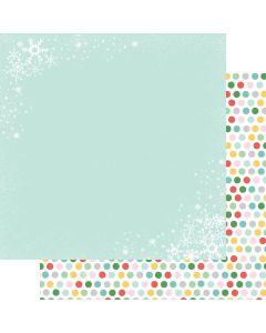"Christmas Flurries 12"" x 12"" Paper - Wishmas - Jodi Sanford - Fancy Pants Designs"
