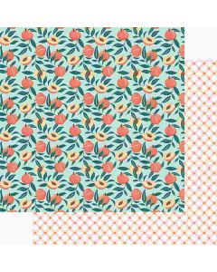 """Just Peachy 12"""" x 12"""" Paper - Peachy Keen - Foundations Decor*"""