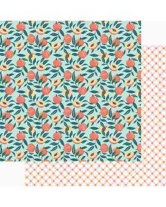 "Peachy Keen 12"" x 12"" Paper - Peachy Keen - Foundations Decor*"