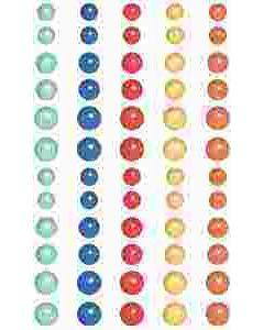 Peachy Keen Enamel Dots - Foundations Decor*