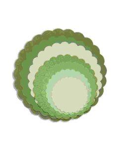 Scallop Circles - Framelits Die Set - Sizzix