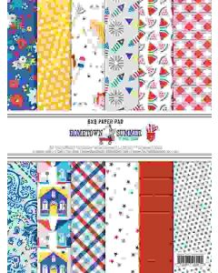 """Hometown Summer 6"""" x 8"""" Paper Pad - Renne Looney - Fancy Pants Designs"""