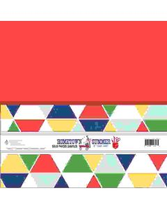 "Hometown Summer 12"" x 12"" Solid Paper Sampler - Renne Looney - Fancy Pants Designs"