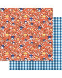 "Water Flora 12"" x 12"" Paper - Lake Life - Fancy Pants Designs"