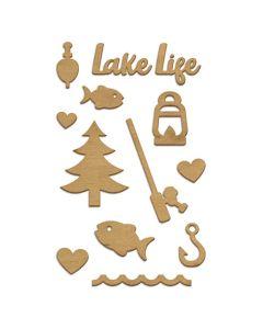 Lake Life Embellishment Set - Fancy Pants Designs