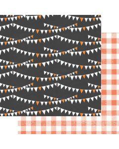 "Halloween Skies 12"" x 12"" Paper - A Little Scary - Fancy Pants Designs"
