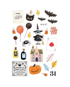A Little Scary Puffy Stickers - Fancy Pants Designs