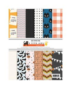 "A Little Scary 6"" x 8"" Paper Pad - Fancy Pants Designs"