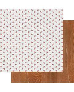 "Love Buds 12"" x 12"" Paper - My Type - Fancy Pants Designs"