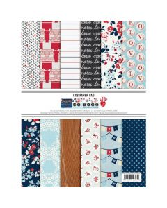 "My Type 6"" x 8"" Paper Pad - Fancy Pants Designs"