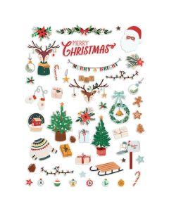 Cozy Christmas Ephemera - Fancy Pants Designs