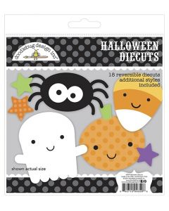 Halloween Die Cuts Craft Kit - Ghost Town - Doodlebug*