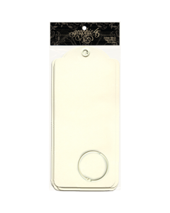 Large Ivory Tags - Staples - Graphic 45