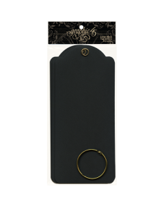 Large Black Tags - Staples - Graphic 45