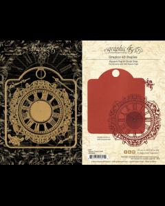 Square Tag & Clock Dies - Staples - Graphic 45