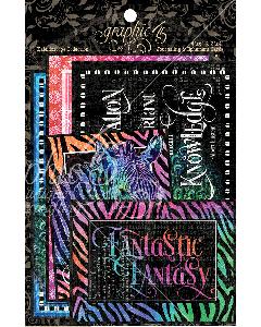 Kaleidoscope Ephemera Cards - Graphic 45