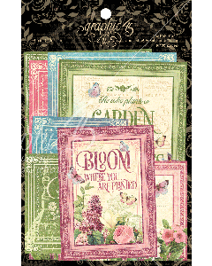 Bloom Ephemera Cards - Graphic 45