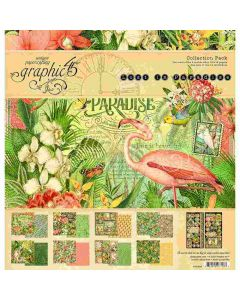"""Lost in Paradise 12"""" x 12"""" Collection Pack - Graphic 45"""