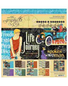"Life's a Journey 12"" x 12"" Collection Pack - Graphic 45"