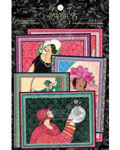 Fashion Forward Ephemera & Journaling Cards - Graphic 45