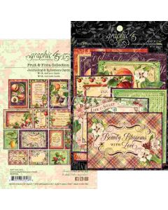 Fruit & Flora Ephemera & Journaling Cards - Graphic 45*