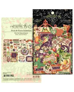 Fruit & Flora Die-cut Assortment - Graphic 45*