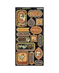 Farmhouse Chipboard - Graphic 45*