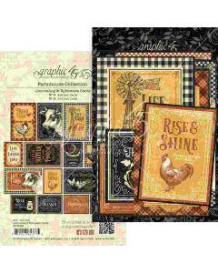 Farmhouse Ephemera & Journaling Cards - Graphic 45*