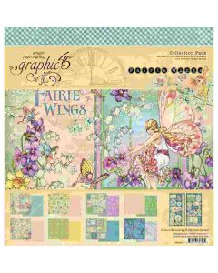 """Fairie Wings 12"""" x 12"""" Collection Pack - Graphic 45*"""