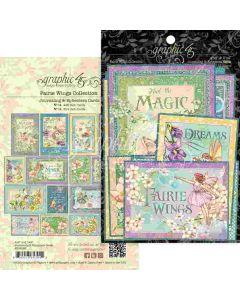 Fairie Wings Ephemera & Journaling Cards - Graphic 45*
