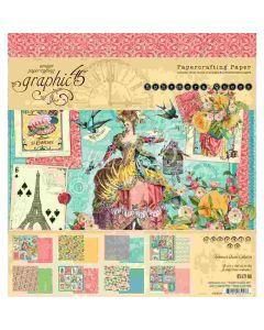 """Ephemera Queen 8"""" x 8"""" Paper Pad - Graphic 45"""