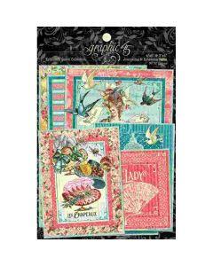 Ephemera Queen Journaling Cards - Graphic 45