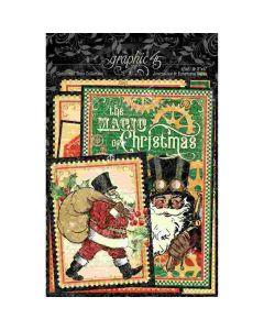 Christmas Time Ephemera & Journaling Cards - Graphic 45