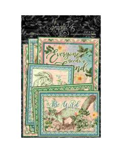Woodland Friends Ephemera & Journaling Cards - Graphic 45