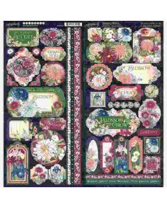 Blossom Stickers - Graphic 45*