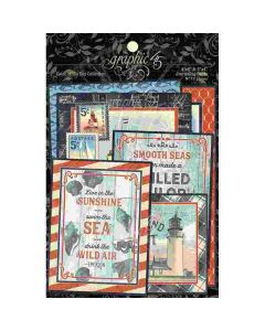Catch of the Day Ephemera & Journaling Cards - Graphic 45*