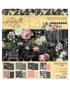 "Elegance 8"" x 8"" Paper Pad - Graphic 45*"